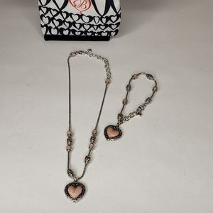 Brighton Pink Heart Set